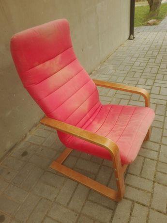 Bardzo wygodny fotel bujany