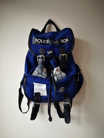 Plecak torebka TARDIS Doctor Who niebieska fandom