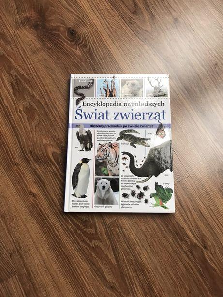 Ksiażka Encyklopedia Najmłodszych Świat Zwierząt