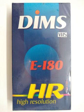 NOVAS Cassetes Vídeo VHS DIMS de 180 minutos