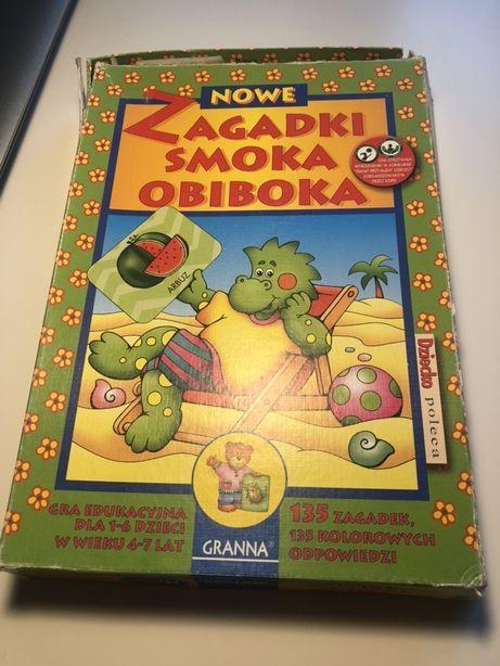 Gra edukacyjna Zagadki smoka obiboka dla dzieci w wieku 4-7 lat