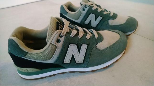 New balance 35,5 zielone khaki wkładka 22 cm seria 574
