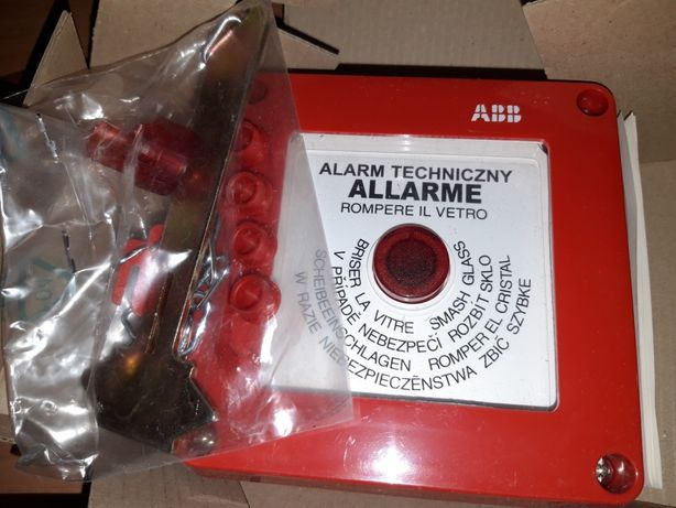Wyłącznik przeciwpożarowy z młoteczkiem 13180 ABB
