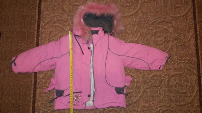 Розпродаж! Куртка зимова на 3-4 роки (пуховик).