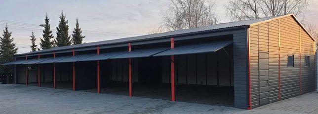 Garaze blaszane wiaty hale stalowe