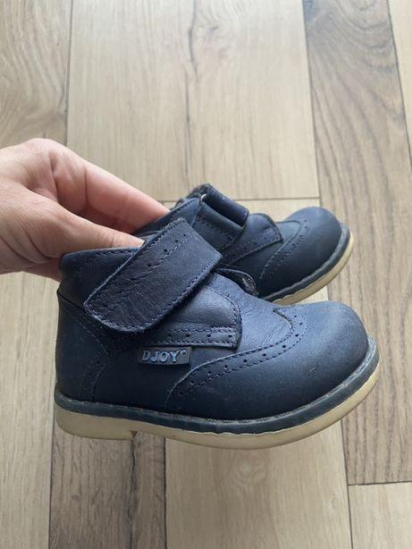 Детские ботинки весна, натур.кожа, ортопед, размер 20