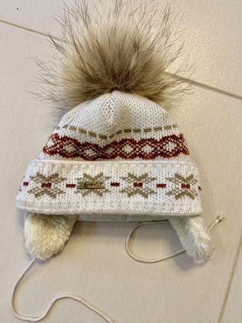 Gakkard зимняя шапка ушанка овчина