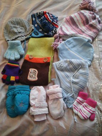Czapki rękawiczki dla dzieci