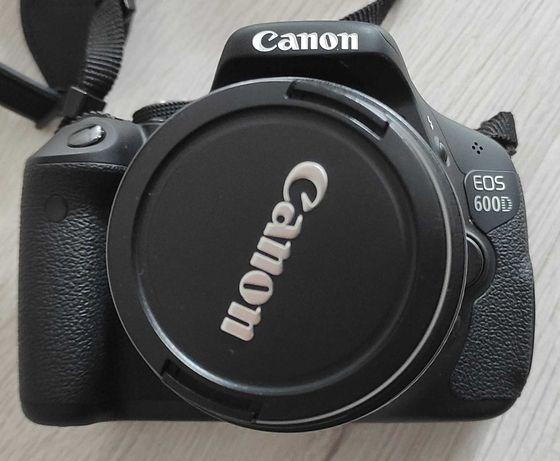Aparat fotograficzny CANON EOS 600D body+ obiektyw 18-55mm OKAZJA