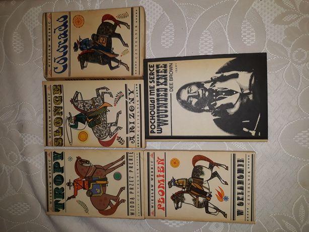 Książki westerny W. Wernica