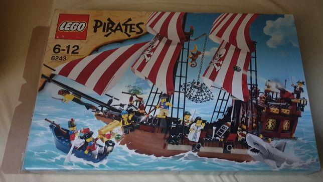 Lego 6243 Pirates Piraci jak nowy statek piracki Brickbeard's Bounty