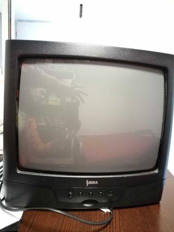 Televisão pequena, marca Siera