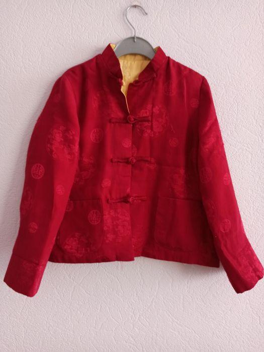 Курточка в китайском стиле , двустороння, 40 размер Одесса - изображение 1