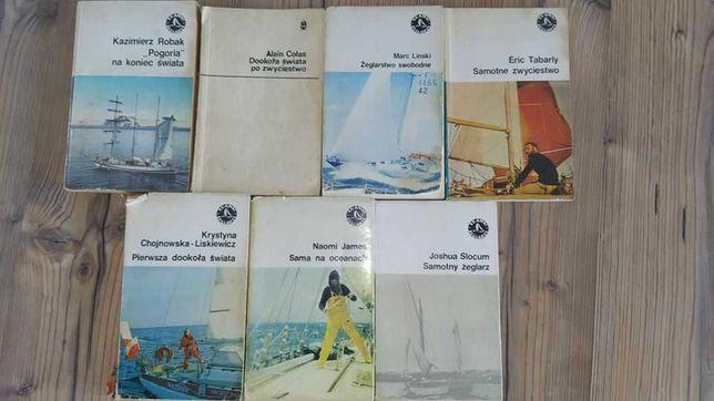 Sławni Żeglarze- książki