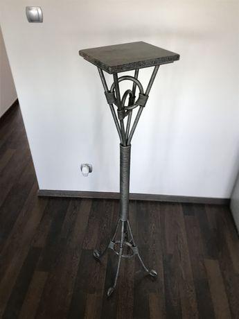 Stojak,Kwietnik,Ozdoba Stal, Granit Unikat Tylko 500 zł