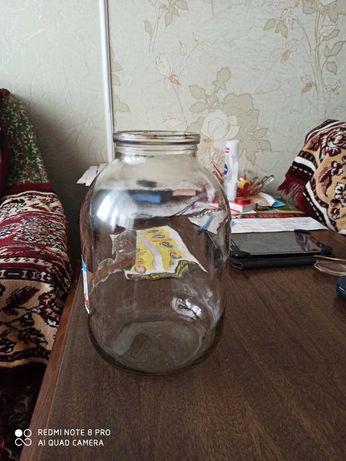 Банки 3-х литровые, литровые, пол литровые