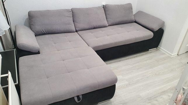 Łóżko Narożnik Agata Nolti 272x173 z funkcją spania