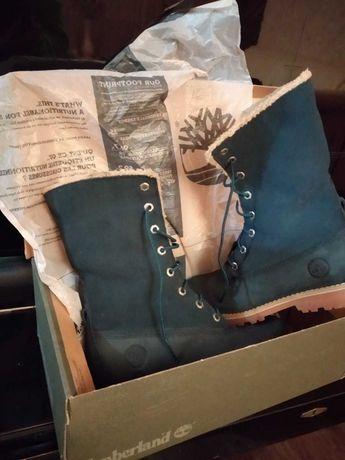 Timberland осень зима ботинки 35,5 размер.торг уместен