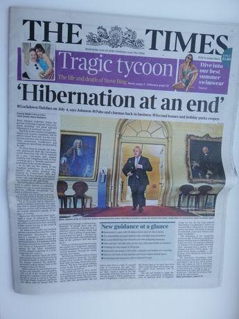 Газета на английском The Times