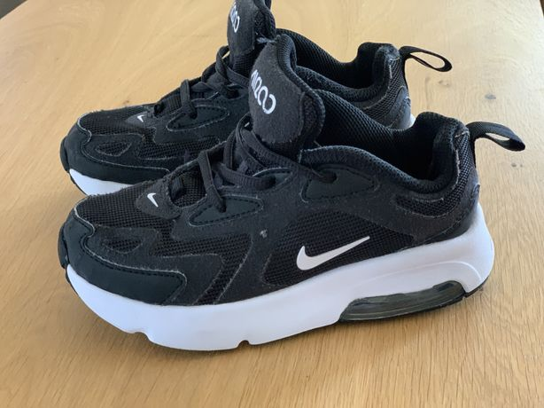 Dziecięce Nike Air 200 Czarne Buty - 29,5