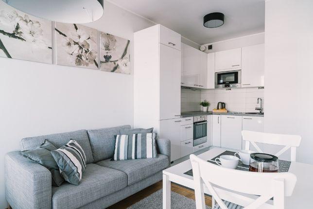 Funkcjonalny apartament dla 2 osób Nowoczesne osiedle -CENTRUM WARSZAW