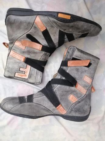 Ботинки серые 37 распродажа