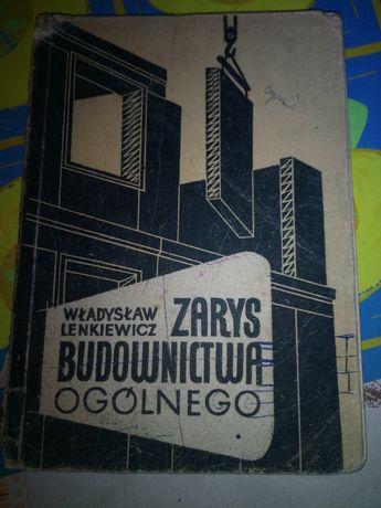 """25. Książka ,,Zarys budownictwa ogólnego"""" z 1965 r"""