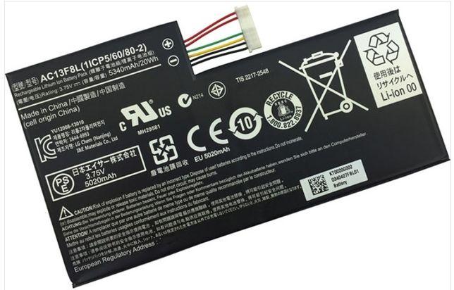 Bateria Acer Iconia A1-810 KT0020G002