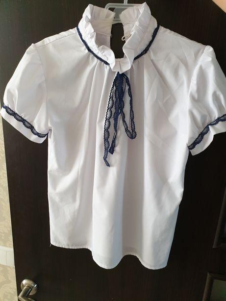 Блуза школьная креп-шифон Польша