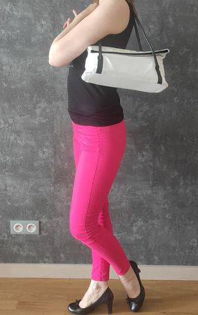 Spodnie H&M fuksja