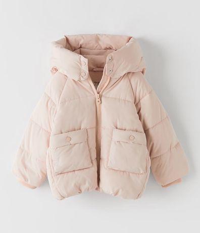 Куртка еврозима Zara 3-4 года, для девочки