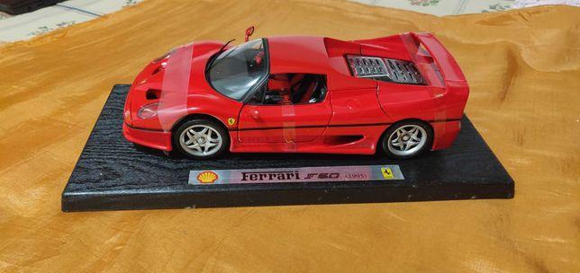 Ferrari 50 - Shell escala 1:18 e outros carros de outras escalas