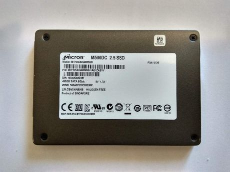 "Продам 2,5"" SATA Micron M500DC MTFDDAK480MBB 480Gb MLC SSD"