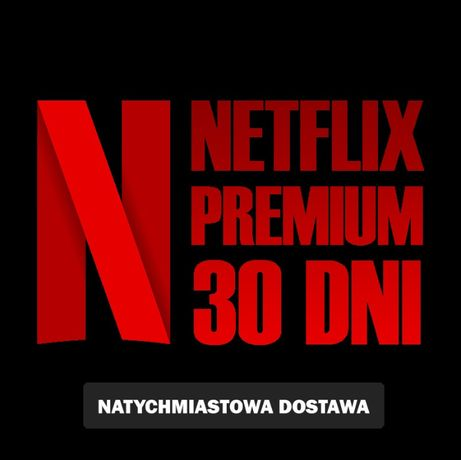 Netflix 30-DNI TV/PC/PS/XBOX Pakiet 4K UltraHD Automat 24/7