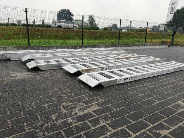 Najazdy aluminiowe 3T rampa Nowe najazdy 3 m różne rozmiary 3m / 3T