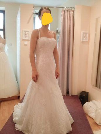 Sukienka ślubna 36 Herms Codie