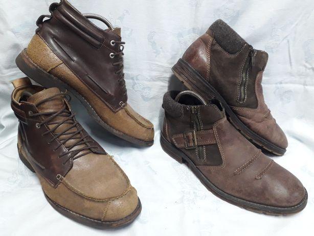 Ботинки кожа, мужкие Timberland 43,41 размер.