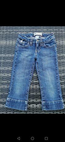 GAP spodenki dżinsowe capri 110/116