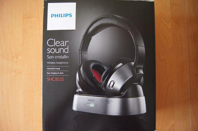 Słuchawki bezprzewodowe Philips SHC8535