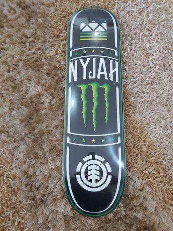 Tábua de skate Element Nyjah Monster Energy