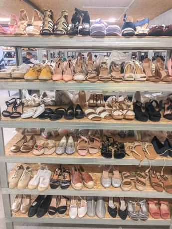 Сток оптом женская обувь опт летняя обувь с Европы взуття жіноче
