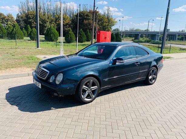 Mercedes CLK Мерседес 208 лупатый