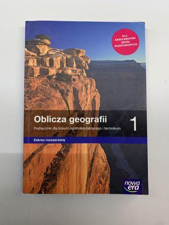 Podręcznik ,, Oblicza geografii '' 1 Zakres Rozszerzony