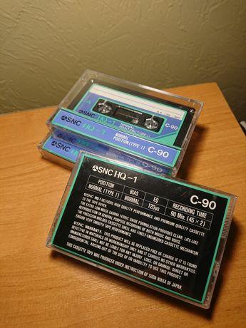 """продам нові аудіокассети """"SNC """"(Japan)"""