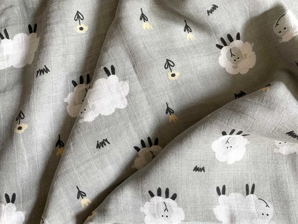 Муслиновые пеленки / Kangobaby muslin baby