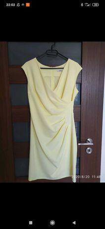 Ryłko cytrynowa sukienka