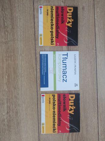 Zestaw slownikow komputerowych niemiecko - polskich