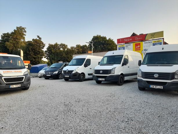Wynajem/Wypożyczalnia Auto-Lawety Samochodów/VAN/Busów/Lawet/Przyczep