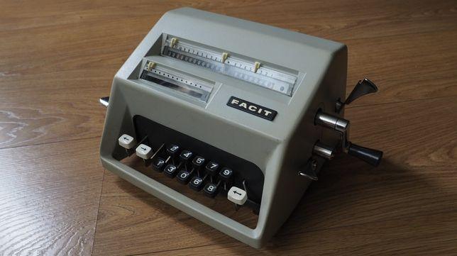 Calculadora Facit C1-13 [1971] - Vintage & Rara