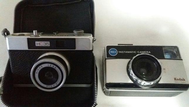 Máquina fotograficas kodak/highs/Polaroid com bolsa